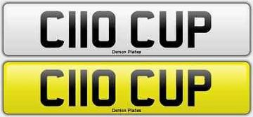 CLIO CUP Cherished Registration Private Plate on Retention 172 182 C110CUP